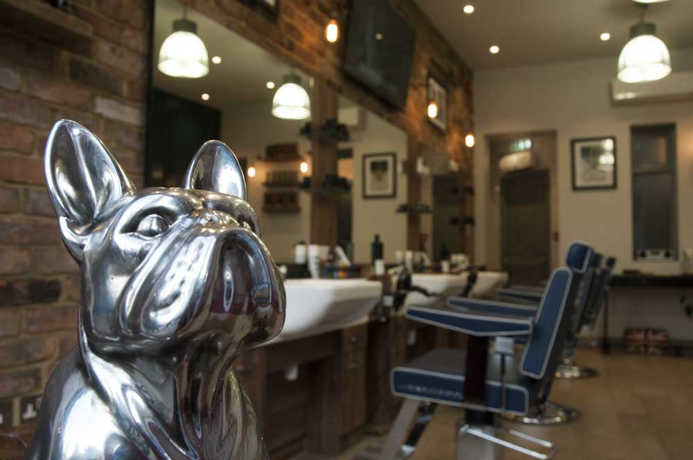 Hammersmith-Barbers-Alexander-Barbers-HQ-W6-Mascot-Pooch