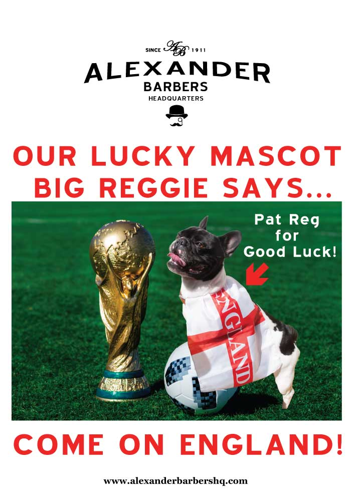 Reggie - Alexander Barbers HQ -Hammersmith
